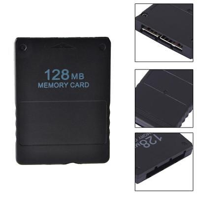 128MB Memory Card Save Game Data Stick Module For Sony PS2 PS Playstation Black