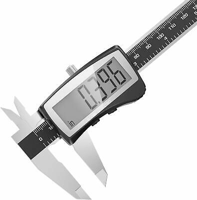"6"" Dial Caliper Stainless Steel Shockproof .001"" Of One Inch."
