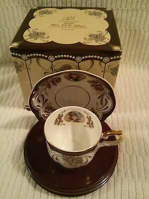 AVON 1999 Honor Society Mrs Albee Cup & Saucer - New in Box