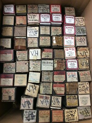 Vintage Antique *Lot Of 67* QRS, IMPERIAL, Play-Rite, Piano Player Rolls 8313S