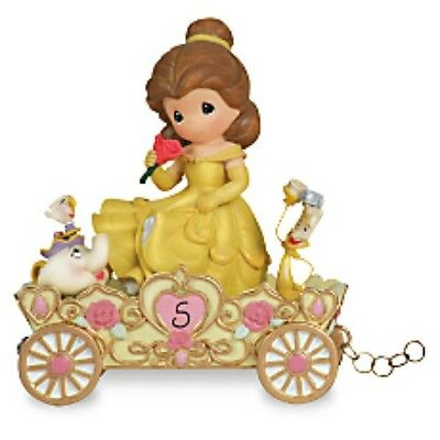 Precious Moments Disney Birthday Parade Train Figurine Belle Age 5 ~ #104407 Nib