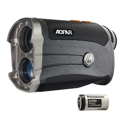 AOFAR G2 Golf Rangefinder 600 Yards Laser Range Finder 6x25mm Waterproof with