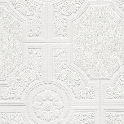 Architectural Inspirations  NW48903 Lucas Vinyl Textured and Paintable Wallpaper