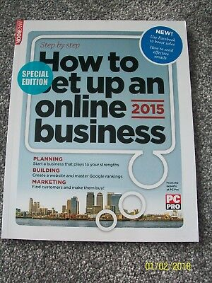 STEP BY STEP HOW TO SET UP AN ONLINE BUSINESS 2015 PC Pro New Bookazine Magbook