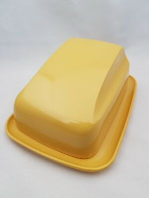 Retro/Vintage Bessemer Butter Dish Gold Nylex Melmac Made in Australia (2 avail)