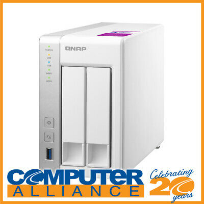 2 Bay QNAP TS-231P2-1G Gigabit NAS Unit