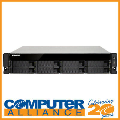 8 Bay QNAP TS-832XU-RP-4G Alpine AL-324 10 Gigabit NAS Unit
