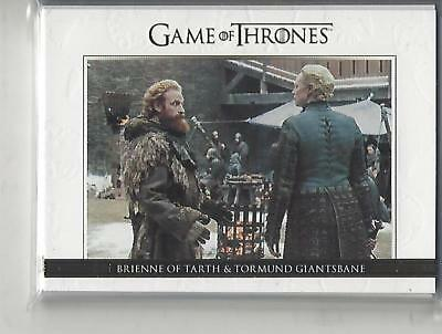 Game of Thrones Season 7 Quotable Gold Card Set (DL41-DL50) xx/225