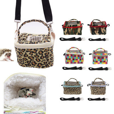 Pet Hamster Carrier Outgoing Handbag with Adjustable Single Shoulder Strap Pouch