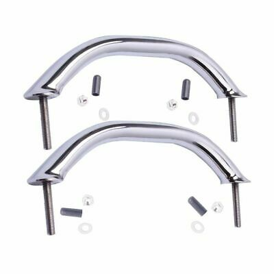 2X Boat Stainless Steel 9 Inch Grab Handle Handrail Polished Universal
