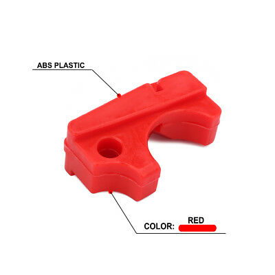 Red ABS Lower Chain Slider For HONDA CRF150F 2003-2005 CRF230F 2003-2017