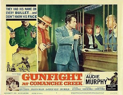 Ben Cooper, Gunfight at Comanche Creek (1963) Lobby Card #5