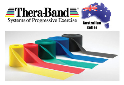 Theraband Exercise Resistance Band Genuine Thera-band (1.5m) FREE POSTAGE