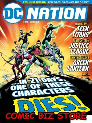 Dc Nation #4 (2018) 1St Print Dc Universe Teen Titans, Justice League And More!