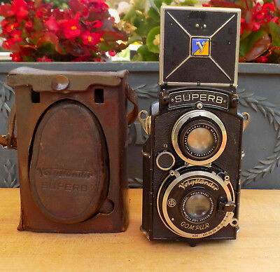Voigtlander Superb Skopar 3.5/75mm TLR camera 1933