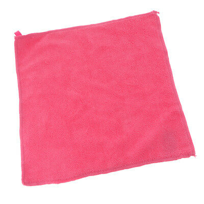Microfiber Cleaning Cloth Towels Home Kitchen Auto Car Detailing Duster Pink