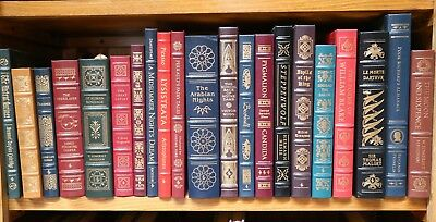 EASTON PRESS LEATHER BOUND(NEVER READ)BOOKS 126 to choose from $55.00 each