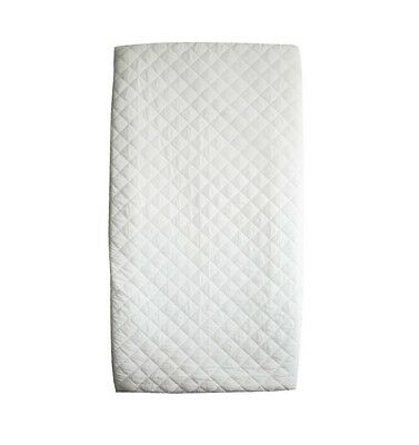 BE Basic Baby Waterproof Quilted Cotton Crib Mattress Pad