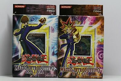 Yu-Gi-Oh! 2002 Starter Decks Yugi & Kaiba 1st Edition Limited Europe