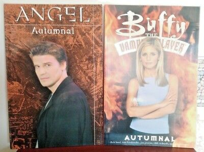 Buffy and Angel graphic novel, set of  two