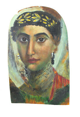Fayum mummy portraits from ancient Egypt