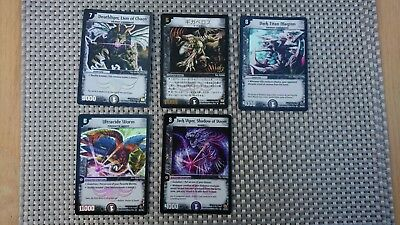 Duelmasters TCG Card Game Collection Of Rare And Ultra Rare Foil Cards Unplayed