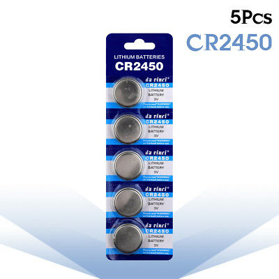 5pcs CR2032 CR2330 CR2430 Button Batteries CR2025 CR2450 3V Coin Cell