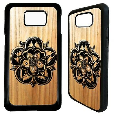 Yokrshire rose flower symbol art case cover for Samsung Galaxy S6 S7 S8 S9 plus