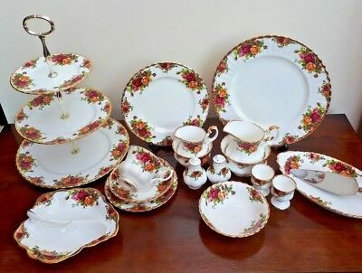 Royal Albert OLD COUNTRY ROSES Tableware Teapot Trio Bowls Egg Cups Update 14/3