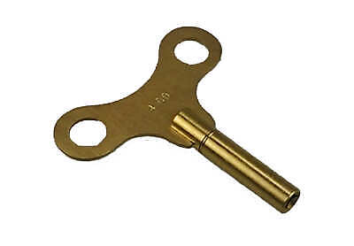 Winding Key Wind-Up Made of Brass, Super Quality! No. 2/2,75mm