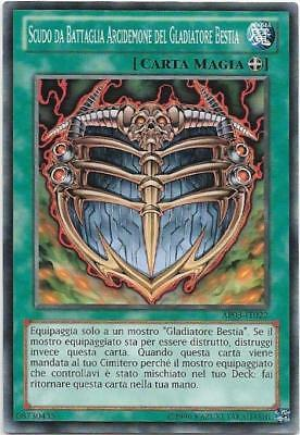 Yu-Gi-Oh! Ap03-It022 Scudo Da Battaglia Arcidemone Del Gladiatore Bestia Comune