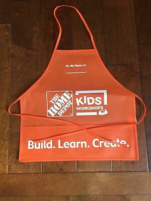 Home depot kids workshop apron ..........NEW