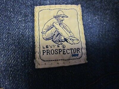 Levi's Prospector Jeans Blue Tab High Waist made in the USA 36x30 true Vintage