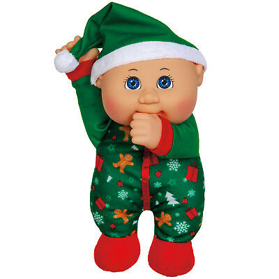 "Cabbage Patch Kids Cuties Doll: 9"" Holiday Helpers Collection - Ginger Holiday"