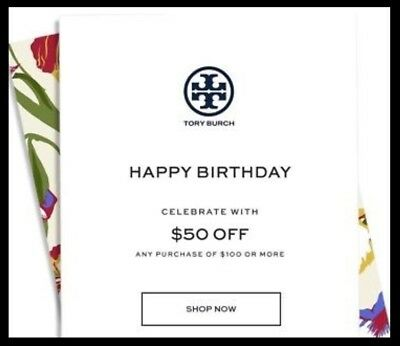 63b803173a5d TORY BURCH  50 OFF  100 Promo Discount Saving - In Store   Online - Expires  9