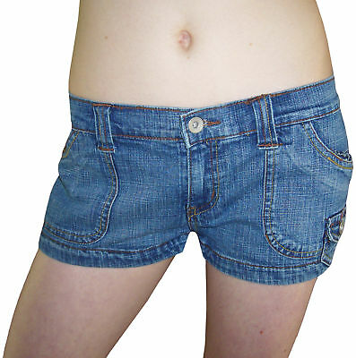 SeXy Jeans HOT PANTS Shorts Hose BLEACHED-Look 40 M L