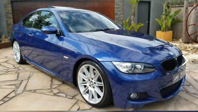 2008 BMW M-SPORT 323i E92 COUPE IN RARE LE-MANS BLUE. IMMACULATE CONDITION!