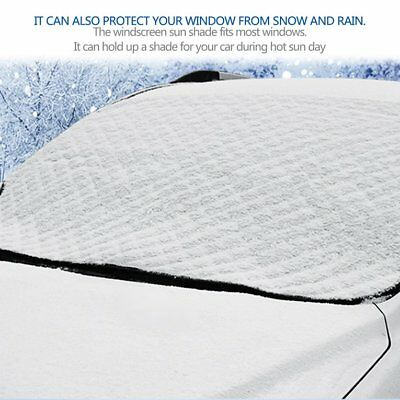 Portable Car Snow Cover Magnetic Windshield Cover Front Windshield Cover  TD