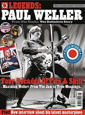 Q Legends - Paul Weller: From The Vaults: The Definitive Story Magazine...new