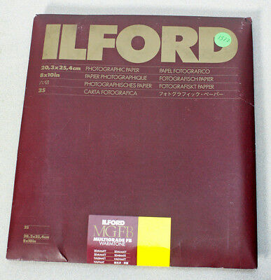 Unopened Pack Ilford Mgfb Warmtone Photo Paper