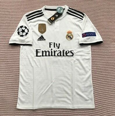 c61dc2036 Luka Modric Real Madrid Soccer Team New Men s White Home Soccer Jersey -  Size L