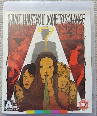 What Have You Done To Solange Blu-Ray + Dvd Arrow Video Special Edition