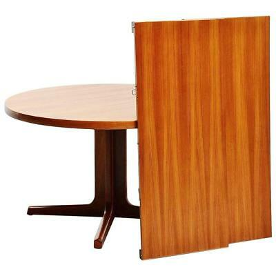 Mid Century AM Mobler Danish Solid Teak Extendable Dining Table, Excellent!