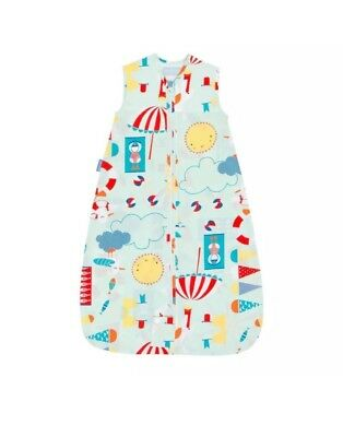 BNWT Beside the Sea Travel Grobag by Gro Company Baby Sleeping Bag 0.5 Tog 0-6m