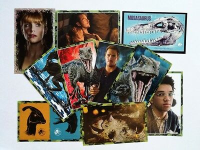 Panini Jurassic World Fallen Kingdom 2018 - Album Stickers singles