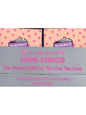 Little Book Of Love Lyrics Counterpack Mixed Songbook Voice Counterpack