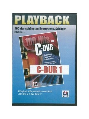 100 Hits In C-Dur Band 1 5 Playback-CDs Recorded Performance Voice MUSIC CD
