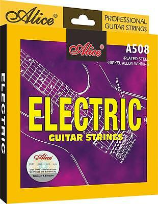 Alice A508-L Light Electric Guitar Strings Plated Steel Nickel-Plated Ball-End