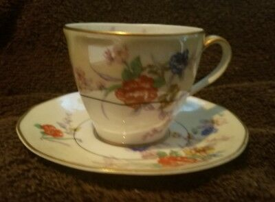 Vintage Demitasse cup and saucer Theodore Haviland France