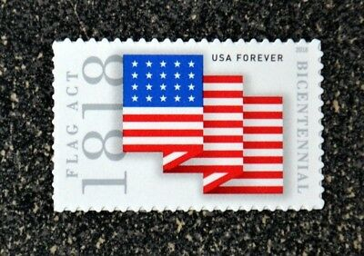 2018USA #5284 Forever Flag Act of 1818 Bicentennial  Mint
